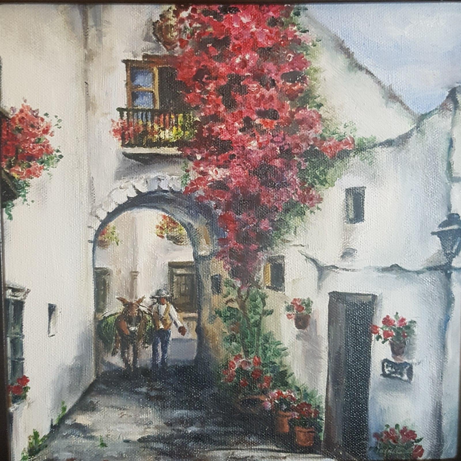Spanish coutyard