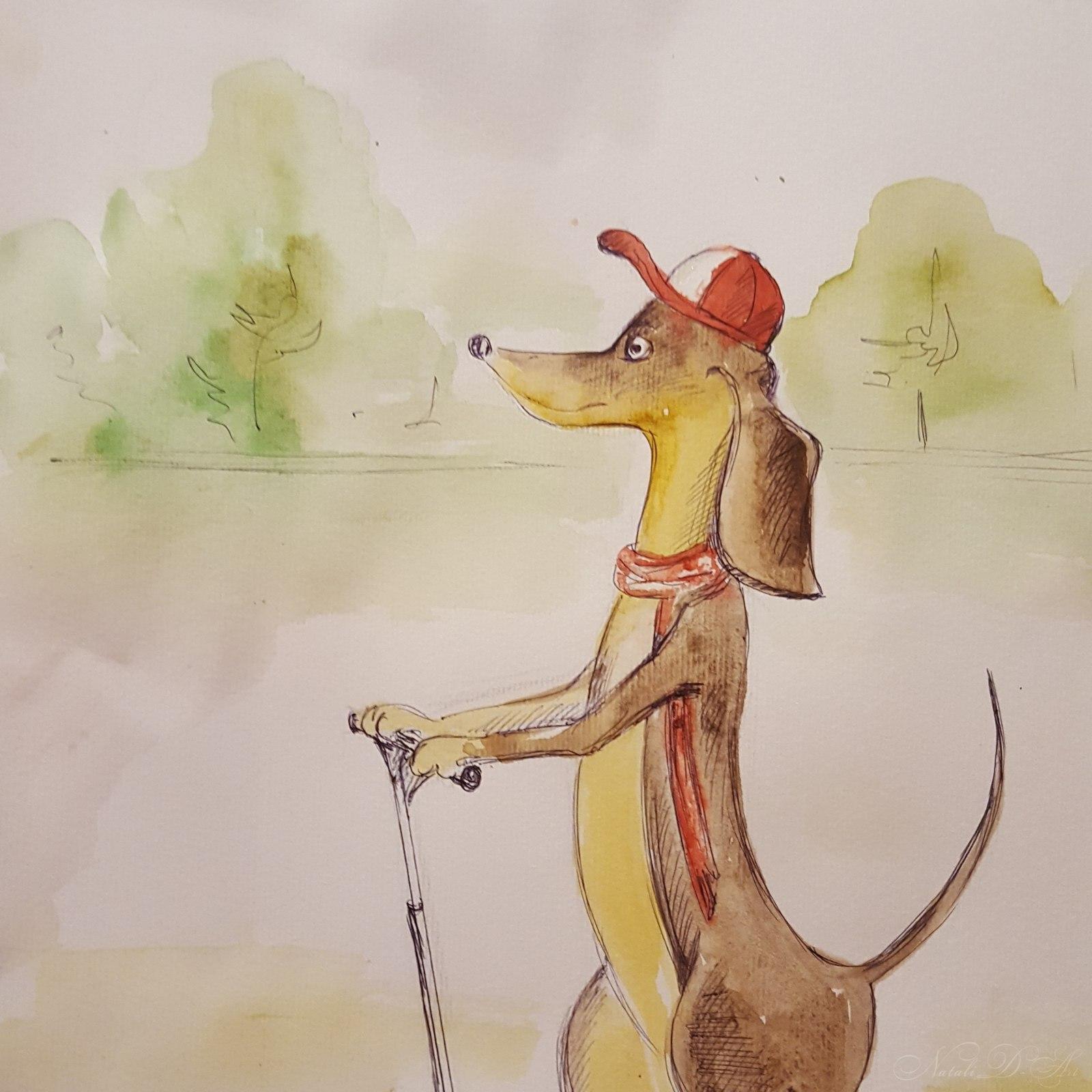 Fanny dachshund