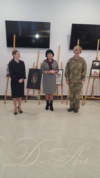 Photo from the opening of the  exhibition