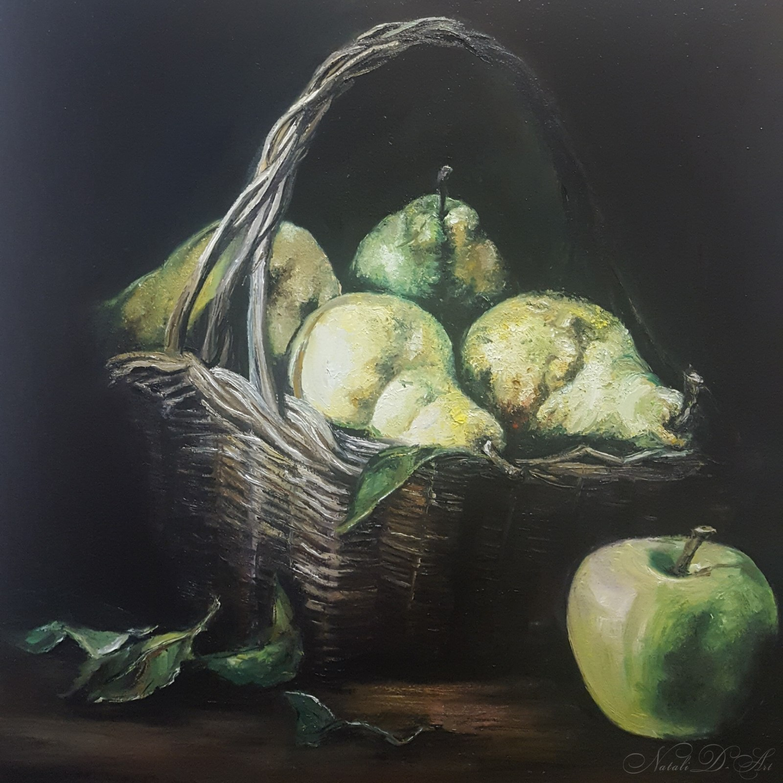 IStill life with an apple