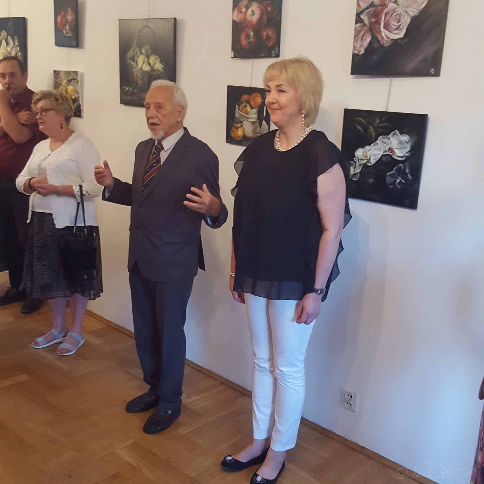 Opening of my exhibition in Poland,the city of Pulawy